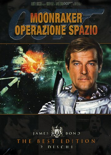 copertina di 007 - Moonraker: Operazione Spazio - The Best Edition
