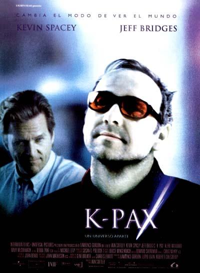 copertina di K-Pax - da un altro mondo