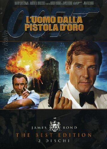 copertina di 007 - L'Uomo dalla Pistola D'Oro - The Best Edition
