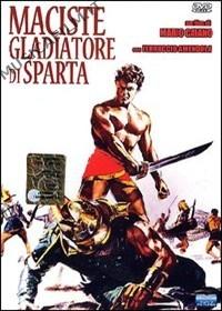 copertina di Maciste gladiatore di Sparta