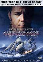 copertina di Master and Commander - Sfida ai confini del mare
