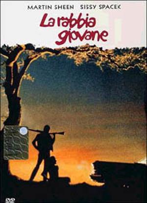 copertina di Rabbia giovane, La (Badlands)