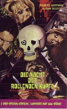 copertina di Nacht der Rollenden Koepfe, Die (Passi di Danza su una Lama di Rasoio) - Limited Edition