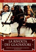 copertina di Rivolta dei Gladiatori, la