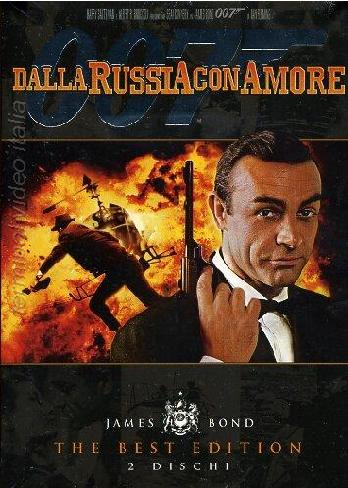 copertina di 007 - Dalla Russia con amore - The Best Edition