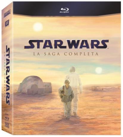 copertina di Star Wars - La saga completa