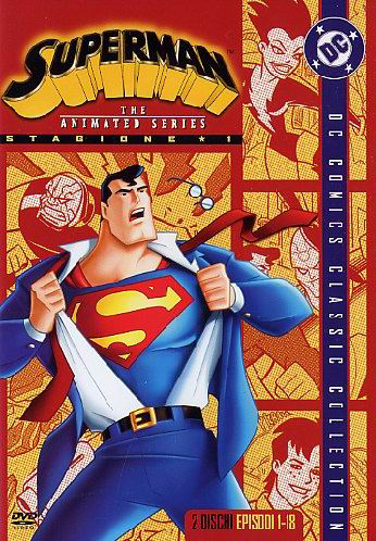 copertina di Superman - The Animated Series Stagione 1