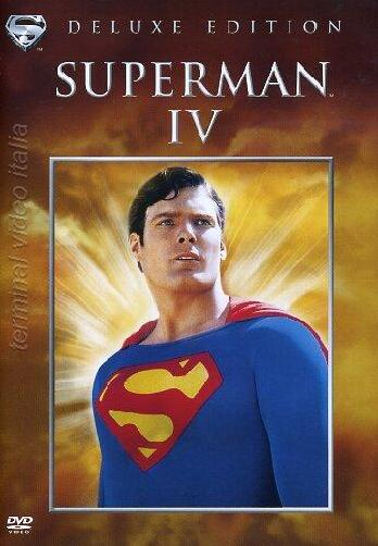 copertina di Superman IV - De Luxe Edition