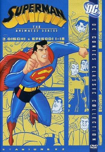copertina di Superman - The Animated Series Stagione 2