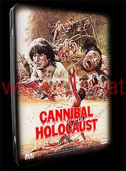 copertina di Nackt und zerfleischt (Cannibal Holocaust) - Limited Steelbook Edition
