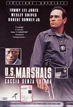 copertina di U.S. Marshals - Caccia Senza Tregua
