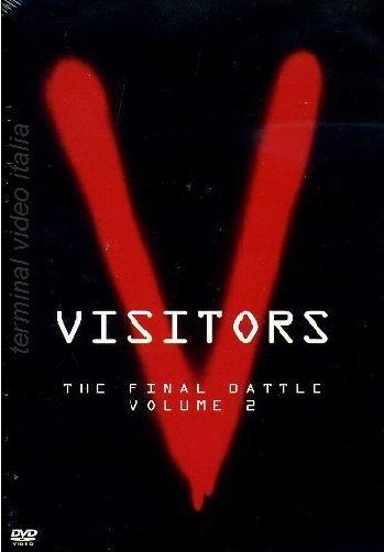 copertina di V- Visitors - The Final Battle - Volume 2