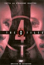 copertina di X-Files - stagione 4