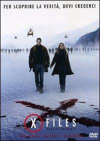 copertina di X-Files - Voglio Crederci